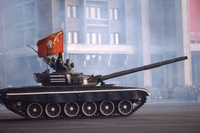 Tank Red Square Moscow