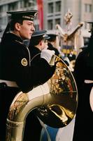 Tuba player Moscow