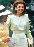 Jacqueline Kennedy attends daughter039s high school graduation Concord MA