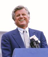 Senator Ted Kennedy speaking Boston MA
